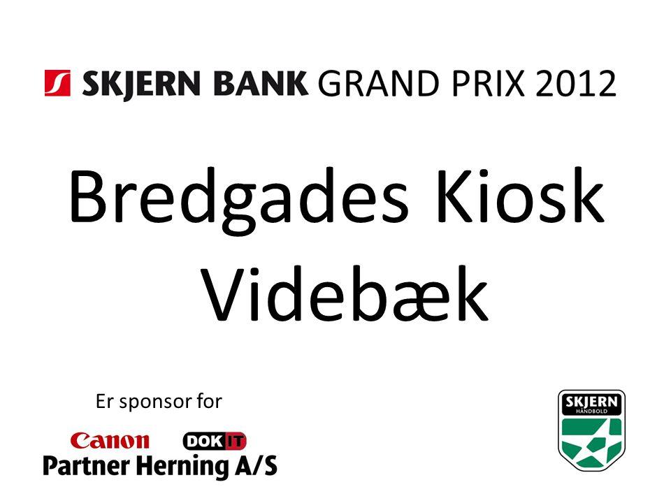 Bredgades Kiosk Videbæk Er sponsor for