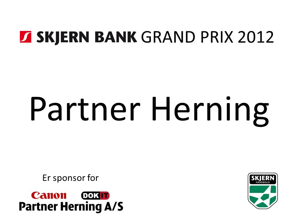Partner Herning Er sponsor for