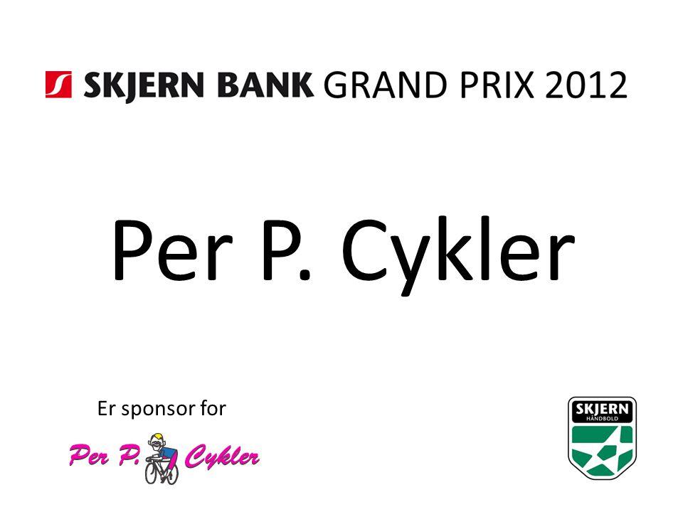 Per P. Cykler Er sponsor for