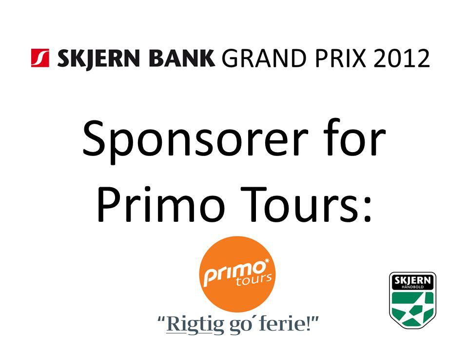 Sponsorer for Primo Tours: