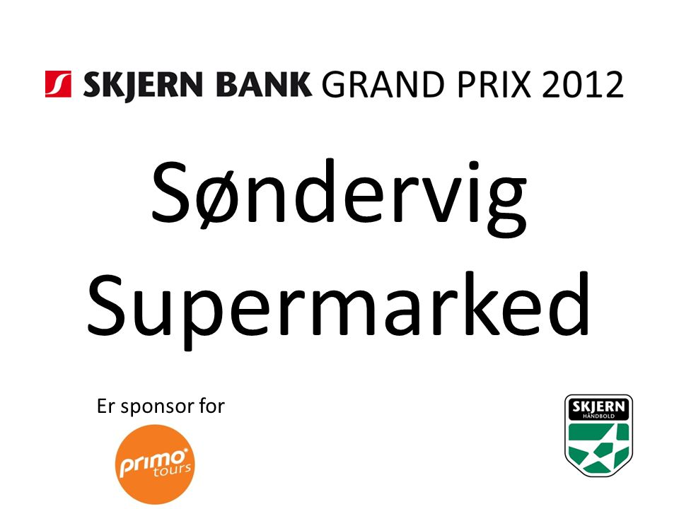 Søndervig Supermarked Er sponsor for