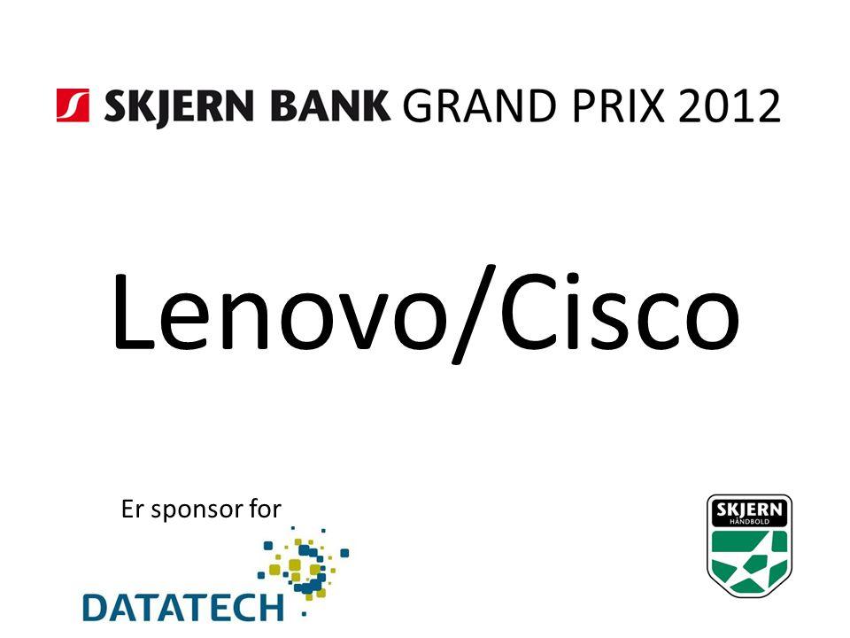 Lenovo/Cisco Er sponsor for