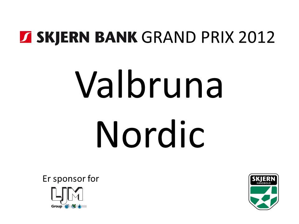 Valbruna Nordic Er sponsor for