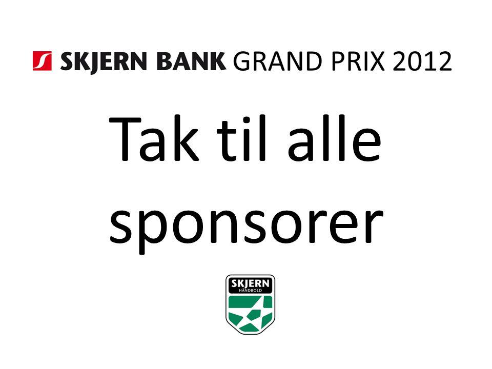 Tak til alle sponsorer