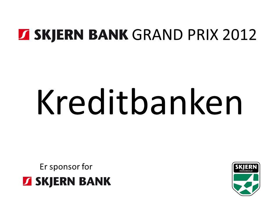 Kreditbanken Er sponsor for