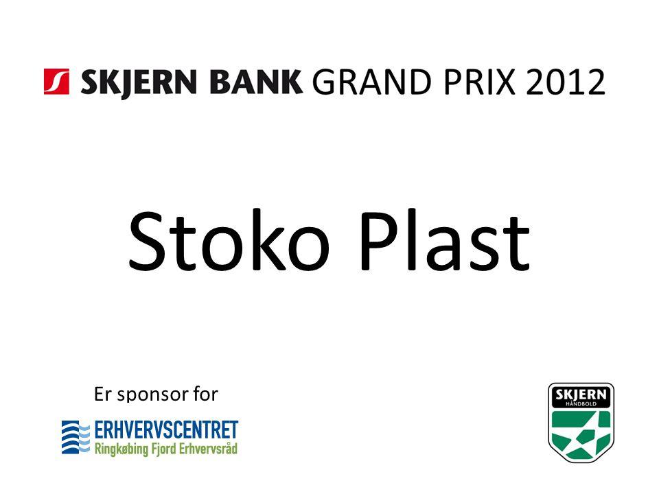 Stoko Plast Er sponsor for