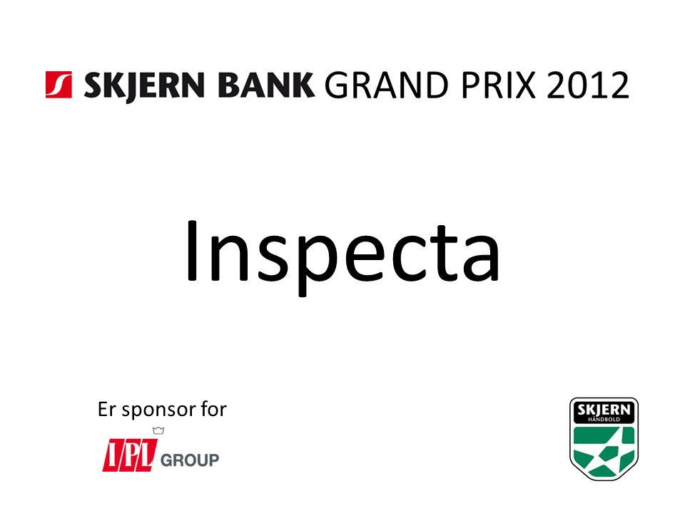 Inspecta Er sponsor for