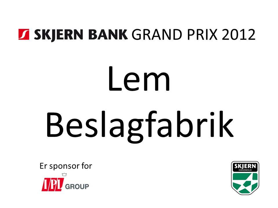 Lem Beslagfabrik Er sponsor for