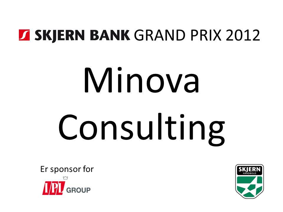 Minova Consulting Er sponsor for