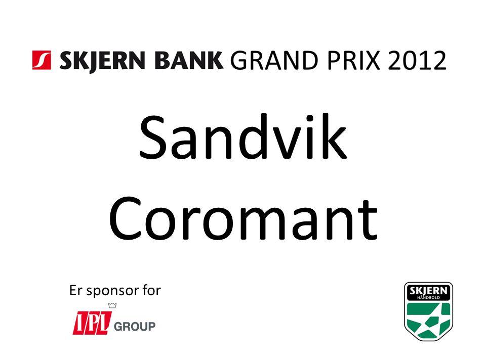 Sandvik Coromant Er sponsor for