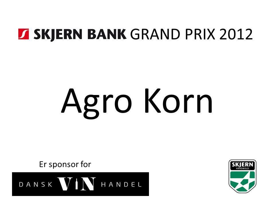 Agro Korn Er sponsor for