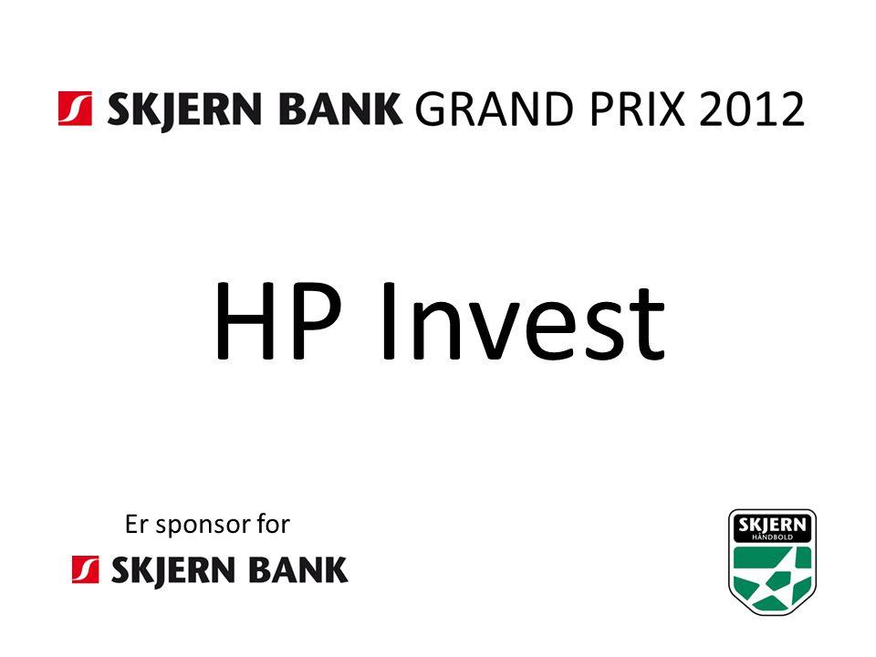 HP Invest Er sponsor for
