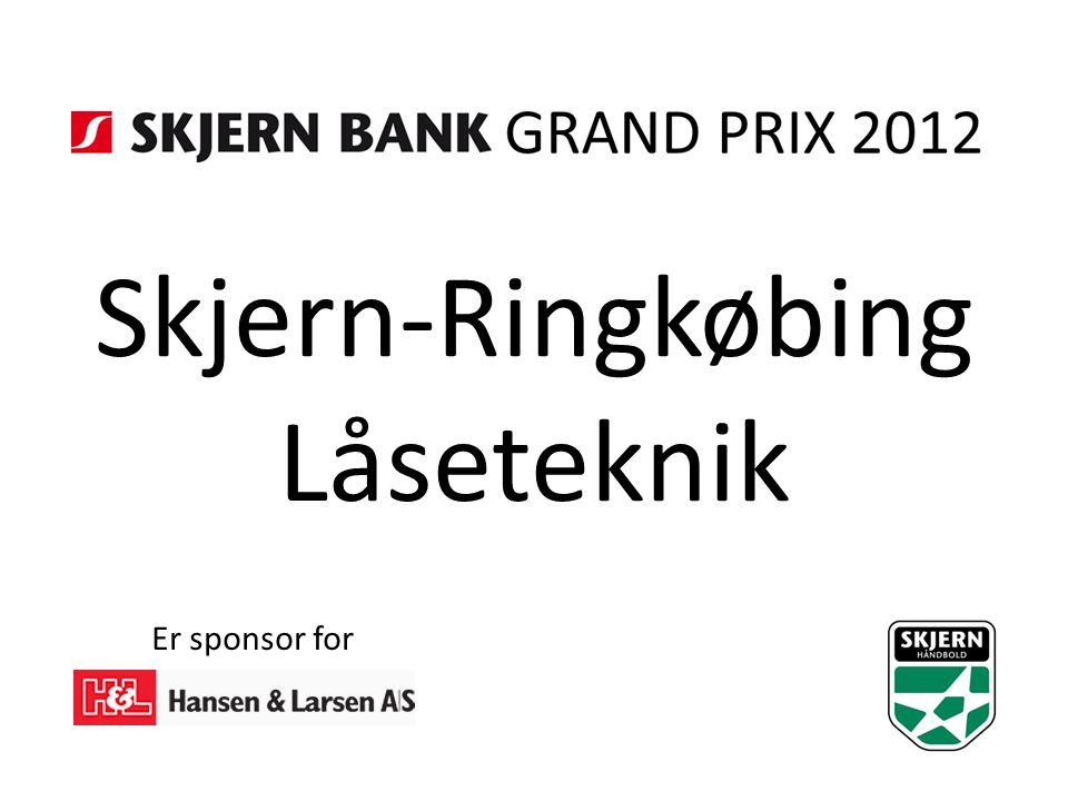 Skjern-Ringkøbing Låseteknik Er sponsor for