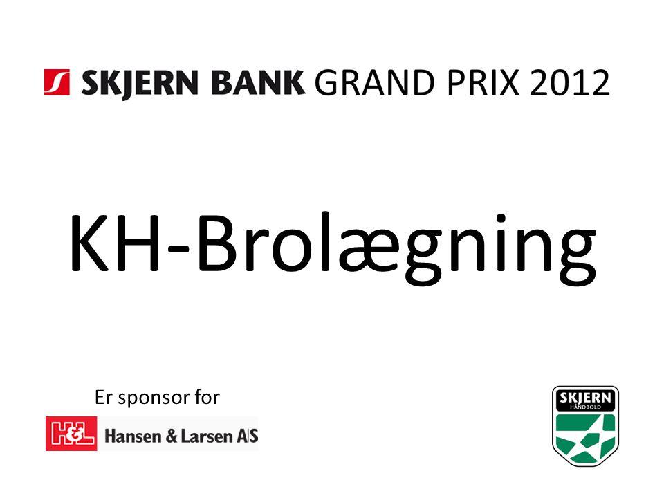 KH-Brolægning Er sponsor for