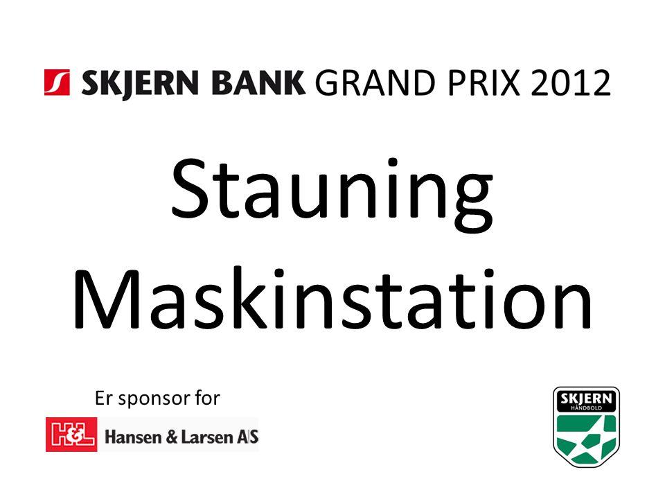 Stauning Maskinstation Er sponsor for