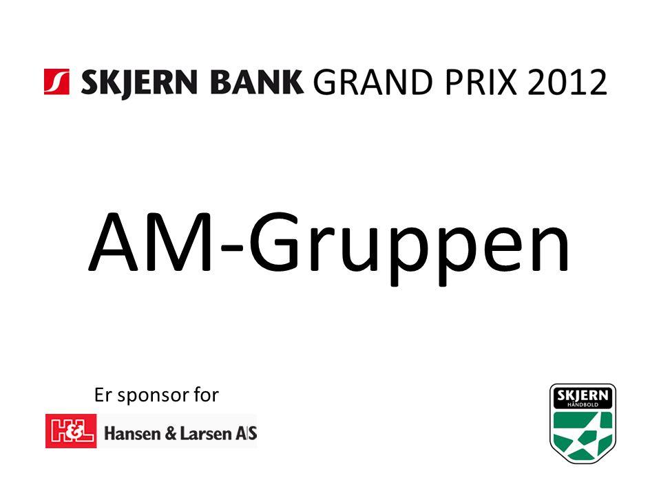 AM-Gruppen Er sponsor for