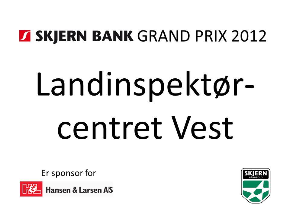 Landinspektør- centret Vest Er sponsor for