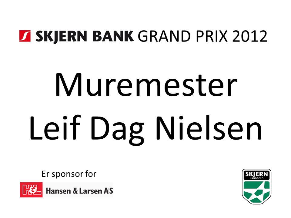 Muremester Leif Dag Nielsen Er sponsor for