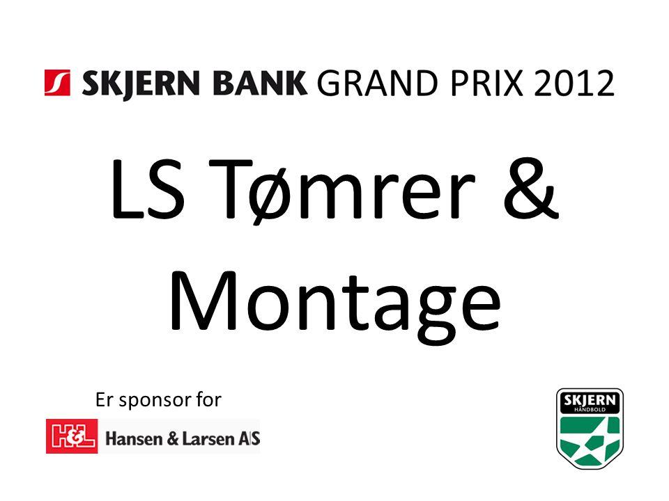 LS Tømrer & Montage Er sponsor for