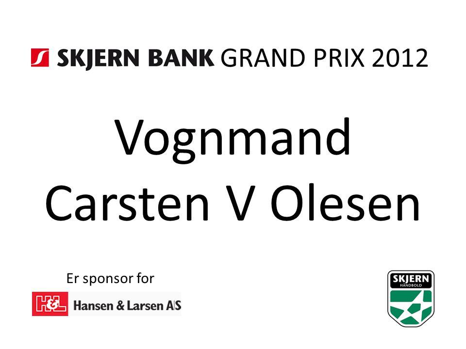 Vognmand Carsten V Olesen Er sponsor for