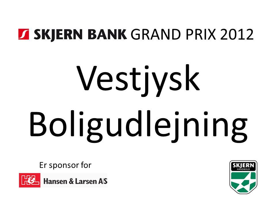 Vestjysk Boligudlejning Er sponsor for