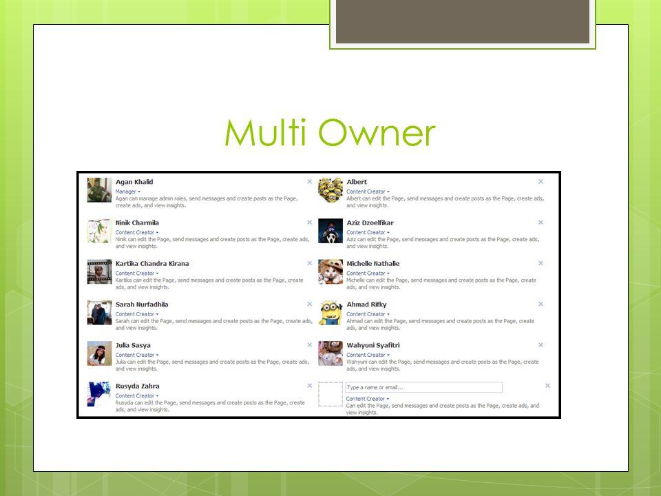 Multi Owner