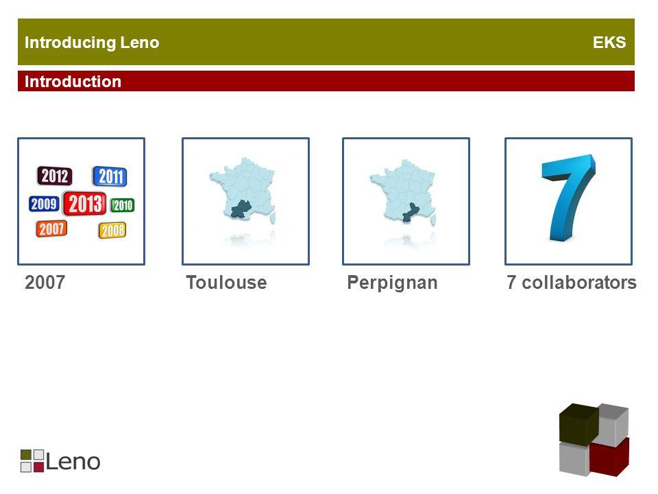 Introduction 2007 Introducing Leno EKS ToulousePerpignan7 collaborators