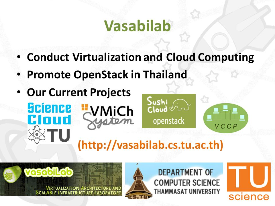 Outline • Introduction to Cloud Computing • OpenStack Overview • OpenStack Demo