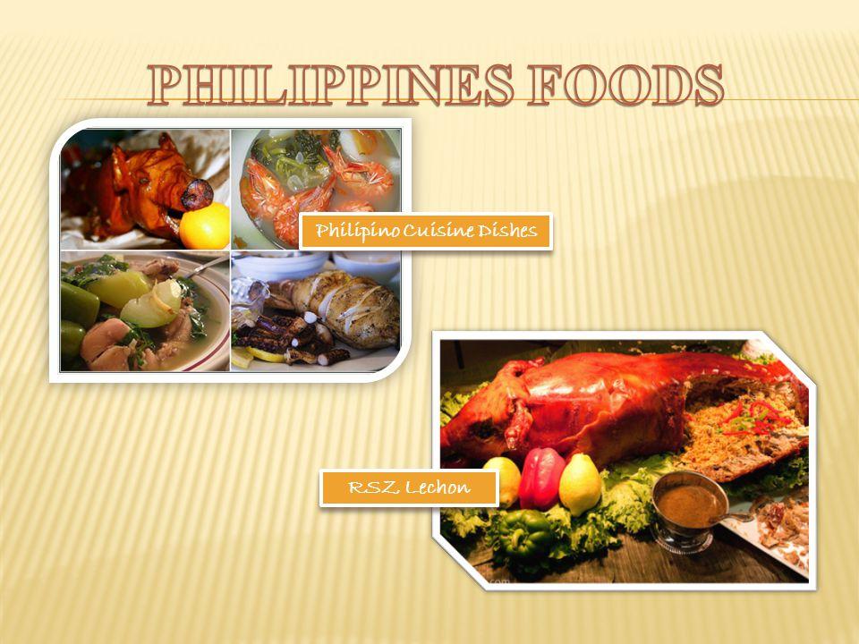 Philipino Cuisine Dishes RSZ Lechon RSZ Lechon