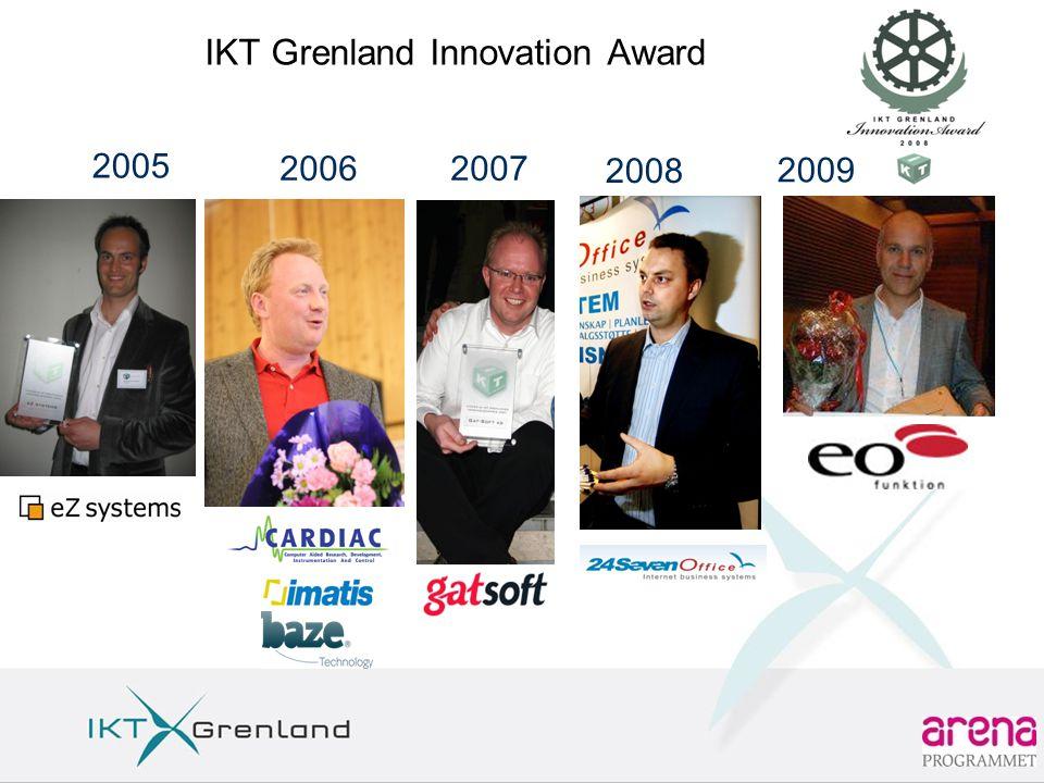 IKT Grenland Innovation Award 2005 20062007 2008 2009