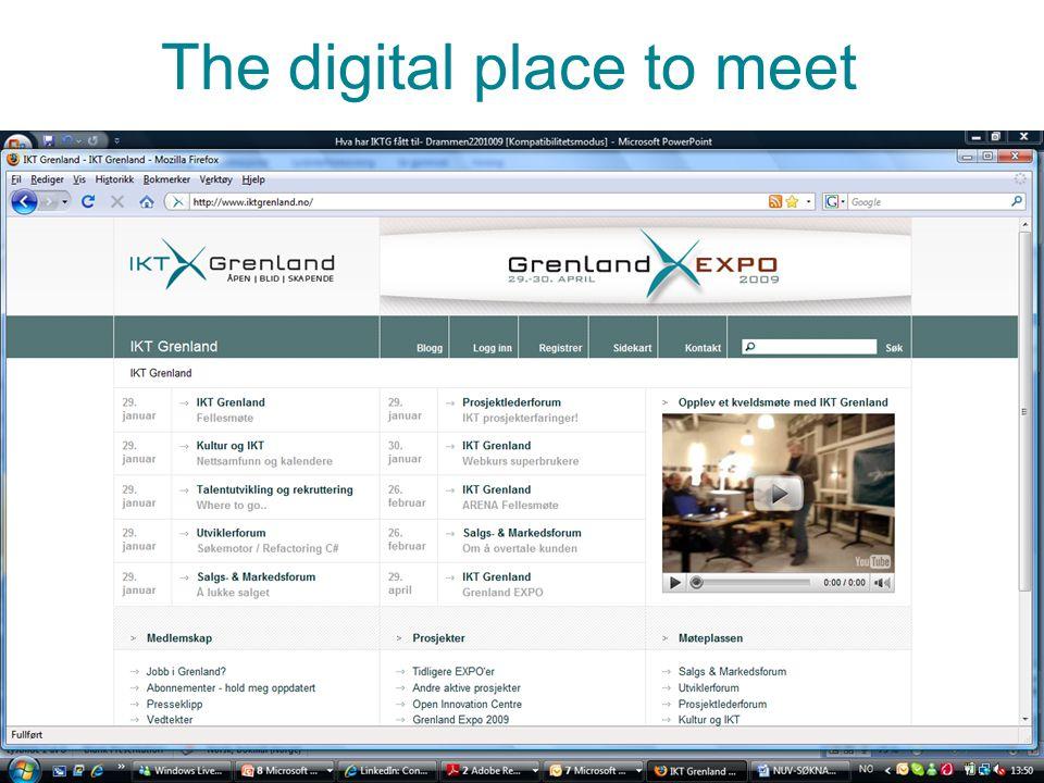 Bilde nr 35 The digital place to meet