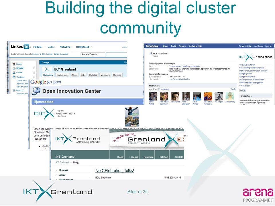 Bilde nr 36 Building the digital cluster community