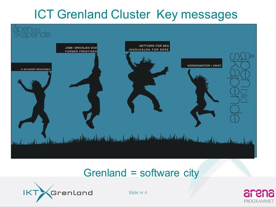 Bilde nr 4 ICT Grenland Cluster Key messages Grenland = software city