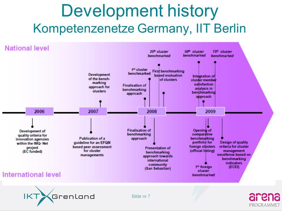 Bilde nr 7 Development history Kompetenzenetze Germany, IIT Berlin
