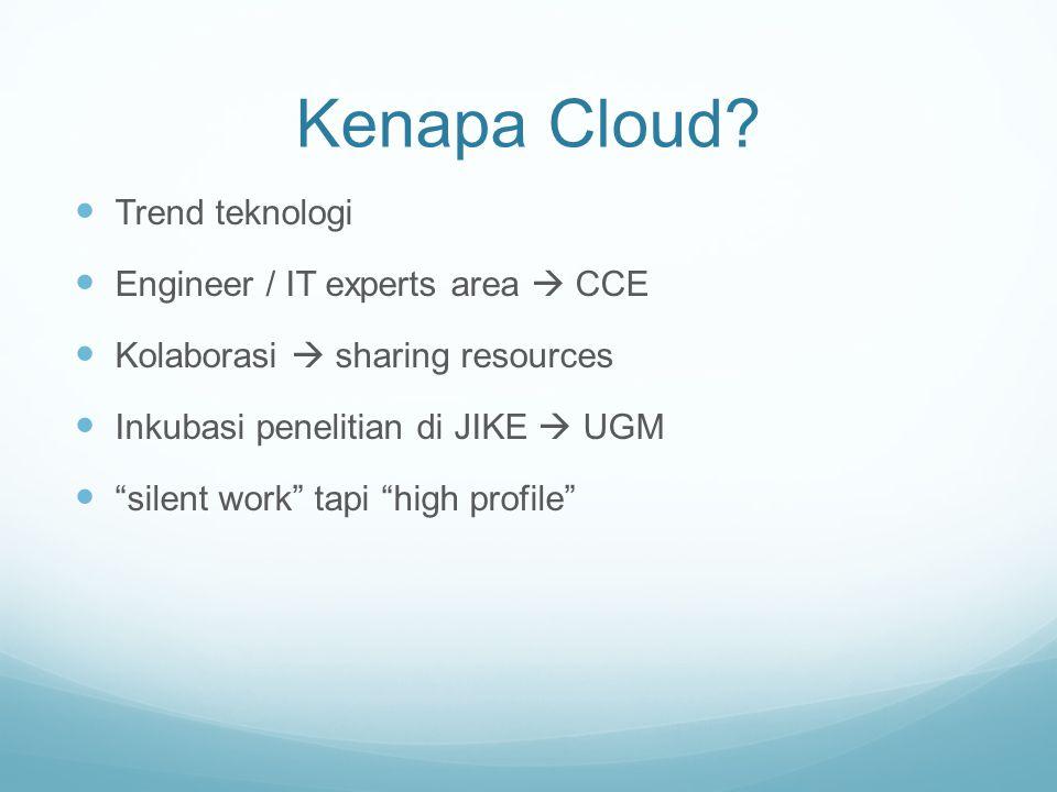 Kenapa Cloud.