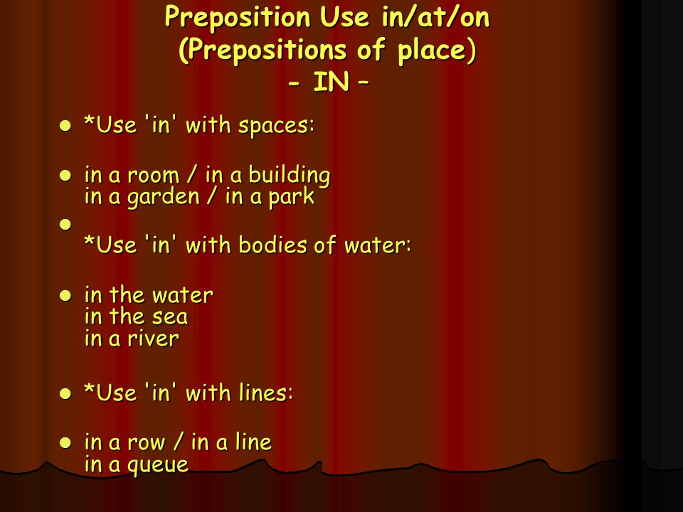  OTHER COMMON PREPOSITIONS about above according to across after against along along with among apart from around as as for at