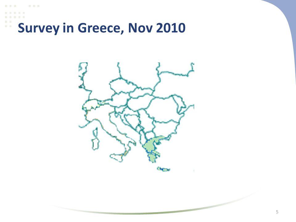 Survey in Greece, Nov 2010 5