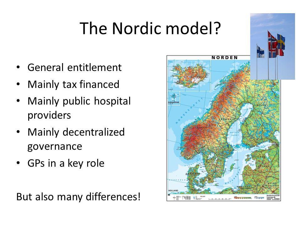 The Nordic model.