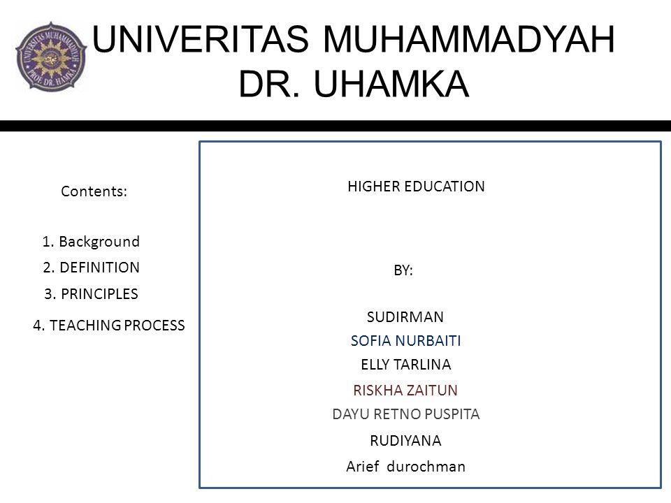 UNIVERITAS MUHAMMADYAH DR.