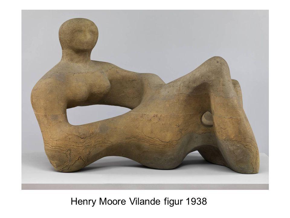 Henry Moore Vilande figur 1938
