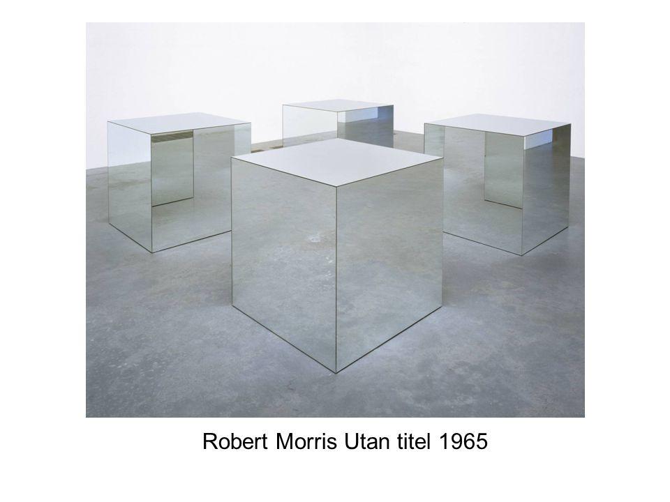 Robert Morris Utan titel 1965