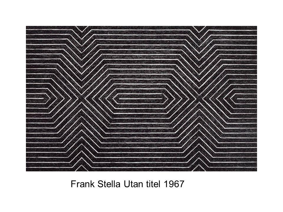 Frank Stella Utan titel 1967