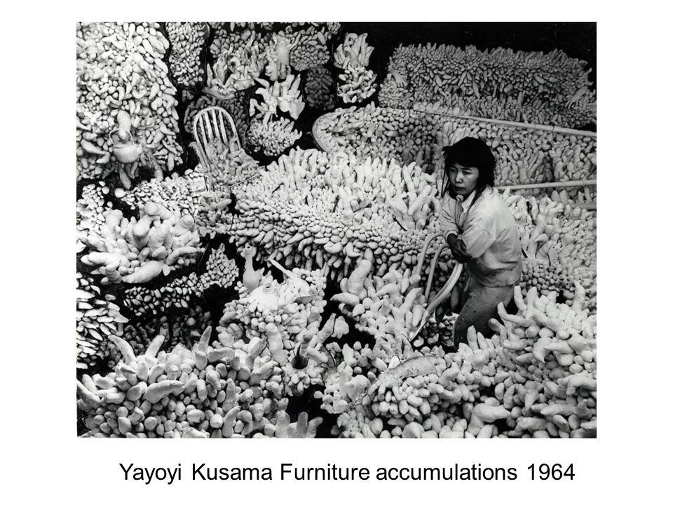 Yayoyi Kusama Furniture accumulations 1964
