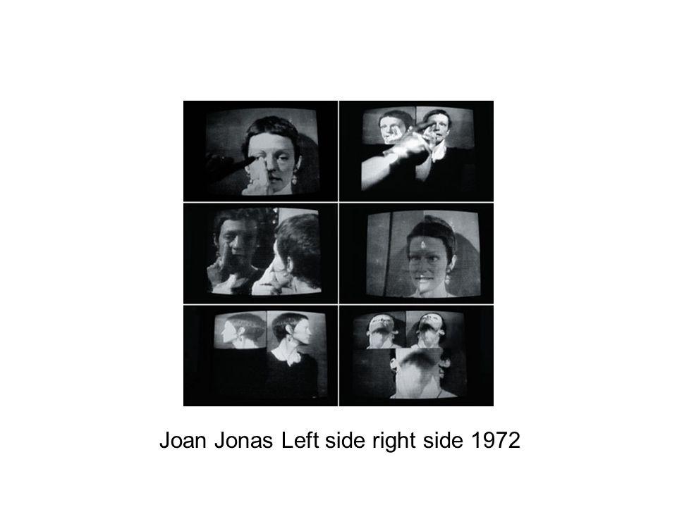 Joan Jonas Left side right side 1972