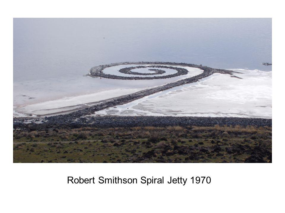 Robert Smithson Spiral Jetty 1970