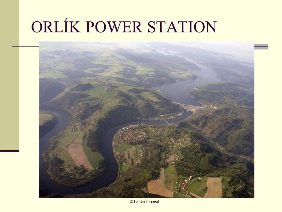© Lenka Lexová ORLÍK POWER STATION