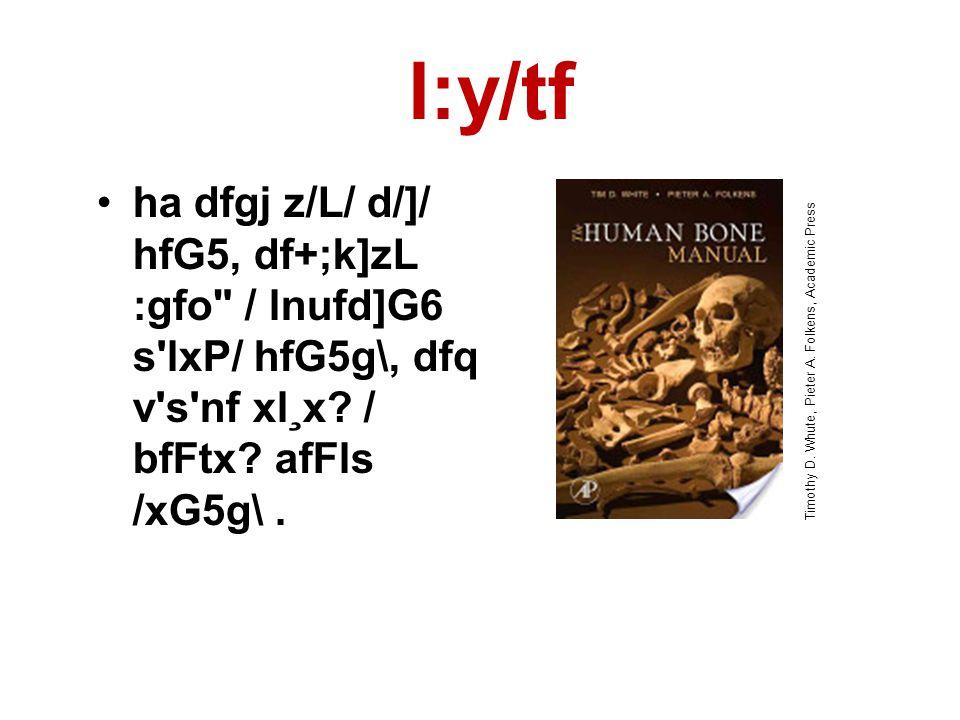 l:y/tf •ha dfgj z/L/ d/]/ hfG5, df+;k]zL :gfo / lnufd]G6 s lxP/ hfG5g\, dfq v s nf xl¸x.