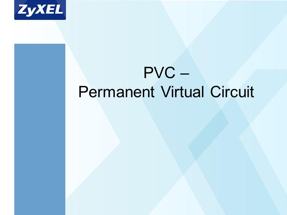 Arial Bold 40 Arial Bold 20 PVC – Permanent Virtual Circuit