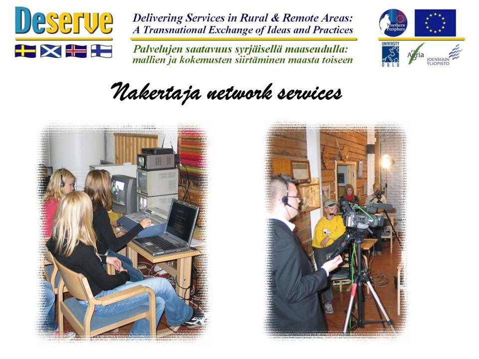 Mediatoiminta Nakertaja network services
