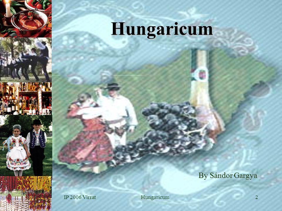 IP 2006 VirratHungaricum2 Hungaricum By Sándor Gargya